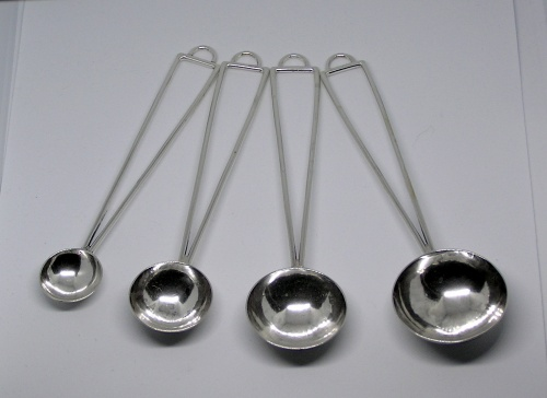 Sterling Measuring Spoons