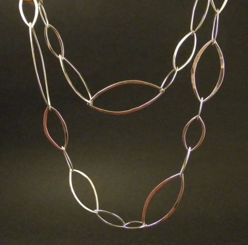 Almond Links necklace